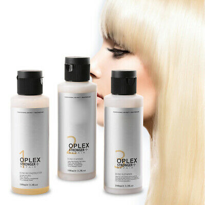 3 pcs Oplex Bond Repair Connections Damaged Hair Strengthen Toughness Treatment