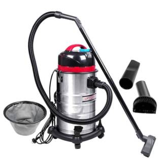 AUS FREE DEL-30L 1400W Industrial Bagless Dry Wet Vacuum Cleaner