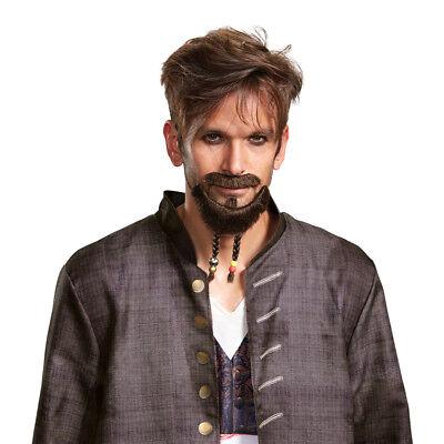 Jack Sparrow Mustache (Adult Jack Sparrow Goatee & Mustache)