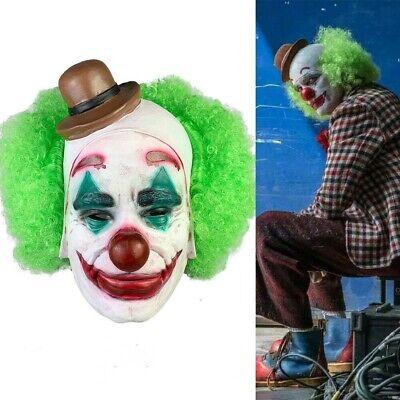 Phoenix Halloween Costume (Joaquin Phoenix Joker Mask Cosplay Costume Arthur Fleck Halloween Cosplay)