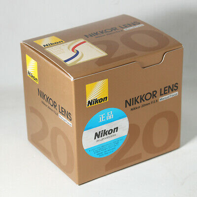 Brand New Unused Nikon Ais Nikkor 20mm F2.8 Wide Angle Manual Lens Ai S MF f/2.8