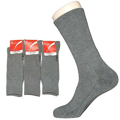 """3 Pairs Mens Thick Trekking Hiking Socks """"Skin contact surface is 100% cotton"""""""