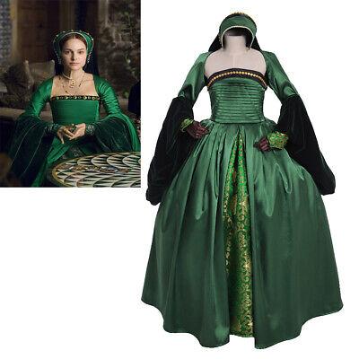 Elizabeth tudor Anne Boleyn green dress costume other Boleyn girls dress  - Anne Boleyn Costume