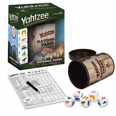 YAHTZEE National Parks Travel Edition | Perfect Travel Game for Families