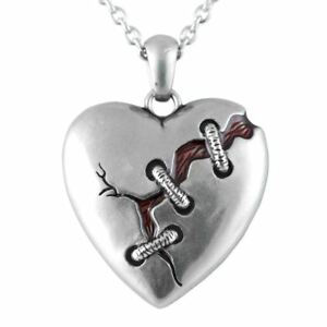 Heart Necklace Cure For A Broken Heart Pendant Stainless Steel Jewelry Controse