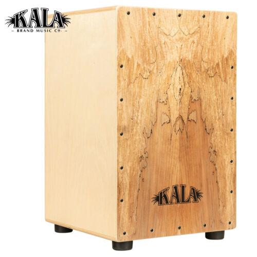 NEW Kala Percussion Series Spalted Maple Cajon KP-CAJON-SPMAPLE