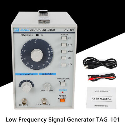 110v Signal Source 10hz-1mhz Audio Low Frequency Signal Generator Tag-101 Best