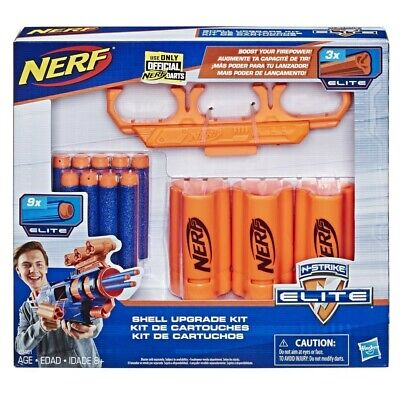 Nerf #E3461 N-Strike Elite Shell Upgrade Kit - New Sealed In-Hand Ready-to-Ship
