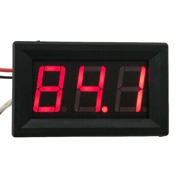 Thermometer K-type Thermocouple Temperature Sensor M6 Fahrenheit Digital Red Led