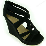 Womens Platform Wedge Sandals