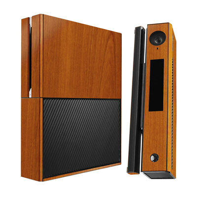 Skinomi Light Wood Full Body Skin Cover for Microsoft Xbox One+Kinect Combo