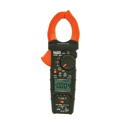 New Klein Tools Cl450 Hvac Clamp Meter W Differential Temperature