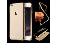New iPhone 6 6S Plus Soft CLEAR Back Silicone TPU Bumper Case Cover