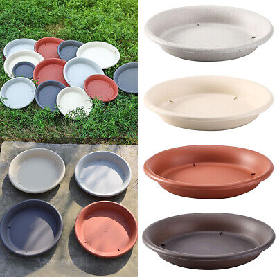 Resin Pot (Round Flower Resin Pot Bottom Trays Green Plant Base Water Drip Tray Saucers Lot)