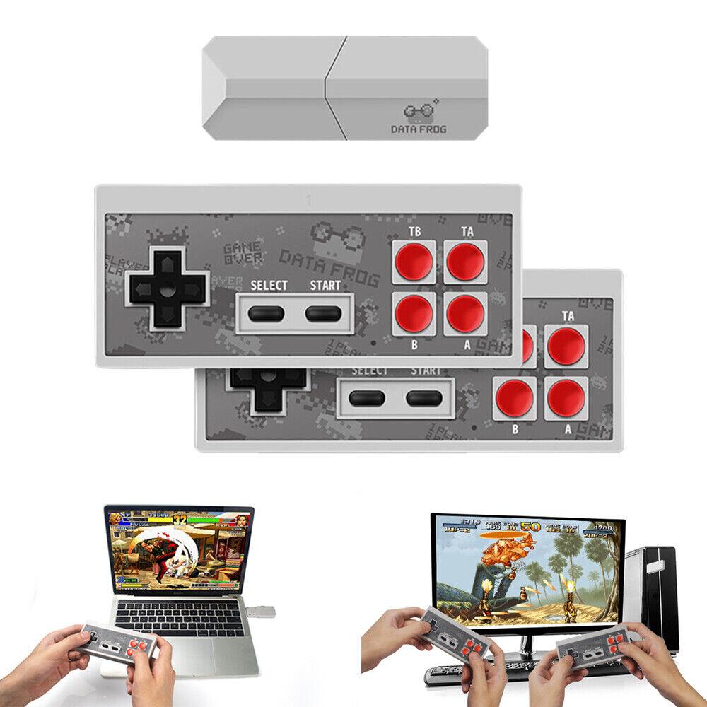 4K TV Retro Game Stick Mini Console 568 Built-in HDMI Games Wireless Gamepad USA