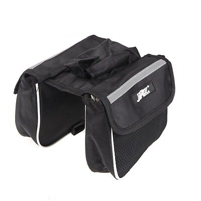 JSZ Cycling Bicycle Bike Frame Pannier Saddle Front Tube Bag Double Sides LW
