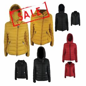 FREE DELIVERY AMAVISSE UK - NEW Women Clothes Winter Fashion Puffy Puffer Light Jacket with Hood