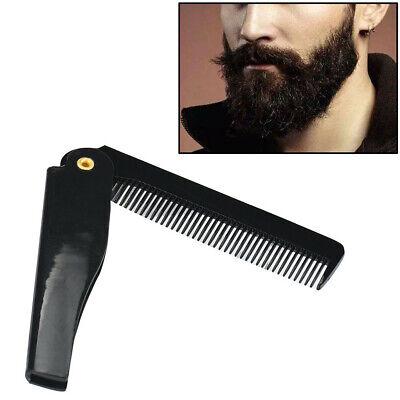 Taschenkamm Rasur Styling Pflege Vollbart Kamm Bürste Bartpflege Klappkamm
