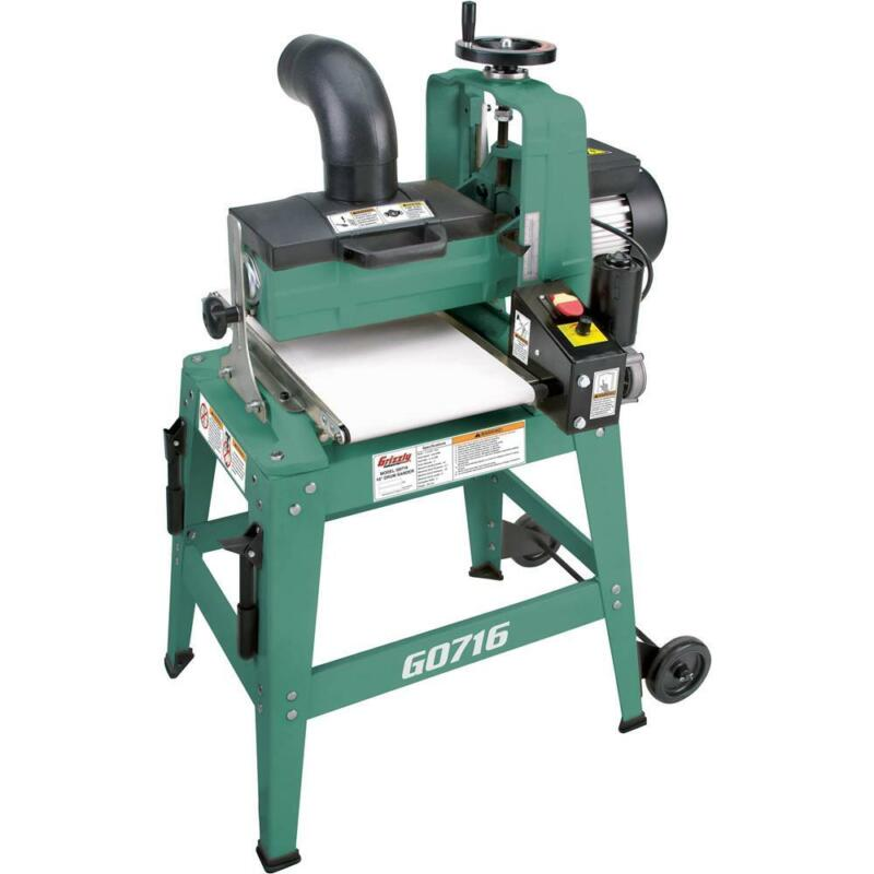 "Grizzly G0716 10"" 1 HP Drum Sander"