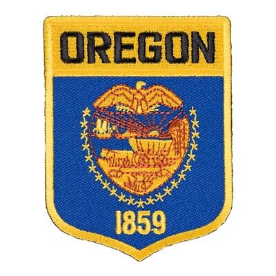 Oregon State Flag Shield Patch, United States of America Patches for sale  Daytona Beach