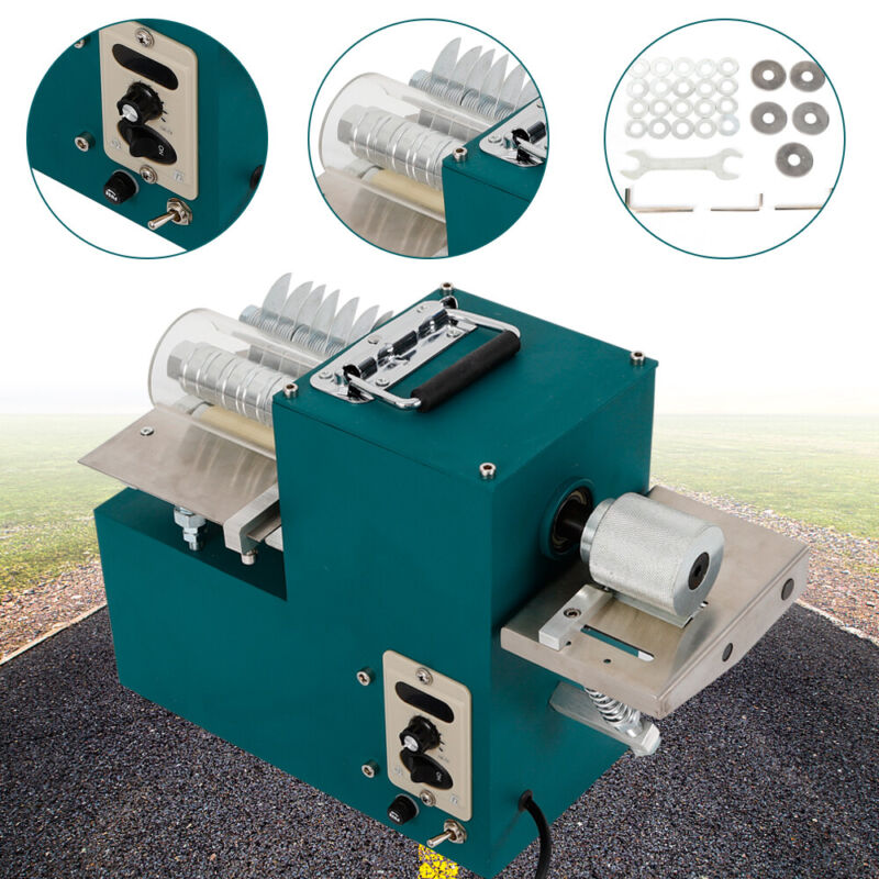 40W High Grade Electric Leather Slitter Leather Cutting Machine Shoe Bags Cutter