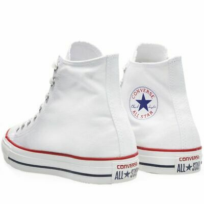 Converse Chuck Taylor All Star Hi Top Classic Optical White Chuck Taylor White Top