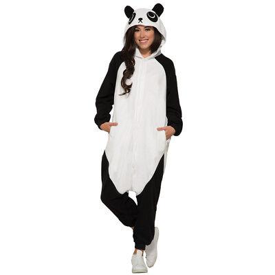 Panda Costume Adult (Adult Panda Jumpsuit Halloween)