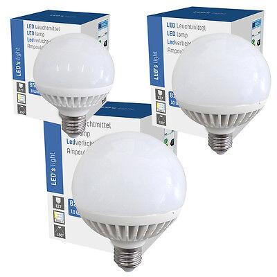 LED Globe Glühbirne G80 G95 G120 / 8W 10W 12W matt E27 Energiesparlampe warmweiß ()