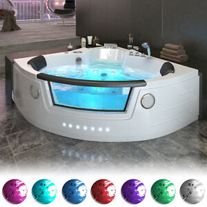 badewanne 2 personen indoor whirlpools wannen ebay. Black Bedroom Furniture Sets. Home Design Ideas