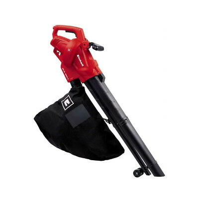 EINHELL LEAF VACUUM 2500W BLOWER GARDEN TURNS ELECTRONIC SHREDDER 40LT