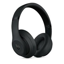 Beats Studio 3 Wireless Over‑Ear Headphones - Matte Black NEW SEALED