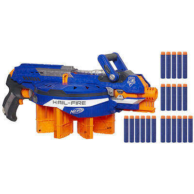 New NERF N-Strike Elite Hail-Fire Blaster Model:24908362