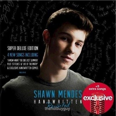 Shawn Mendes   Handwritten Revisited   Target Exclusive Cd New