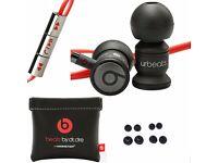 Dr Dre URBeats In Ear Earphones Headphone Headset Monster Beats Black 100% GENUINE + free delivery