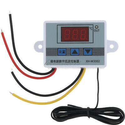 Ac110v-220v Xh-w3002 Digital Led Temperature Controller Microcomputer Thermostat
