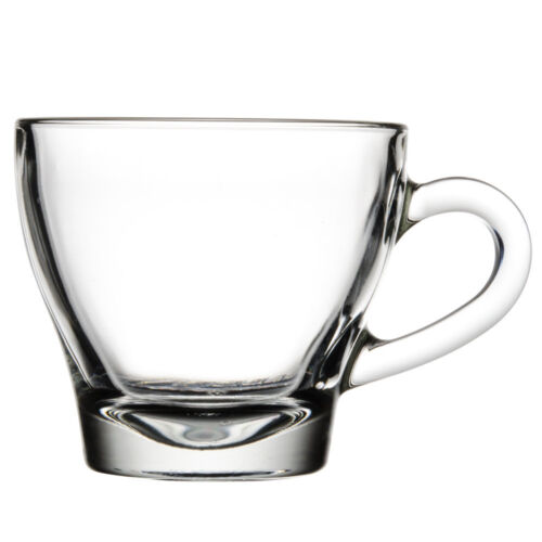 USA SELLER  ESPRESSO/CAPPUCCINO CUP 2.75 OZ CLEAR GLASS FREE SHIPPING US ONLY