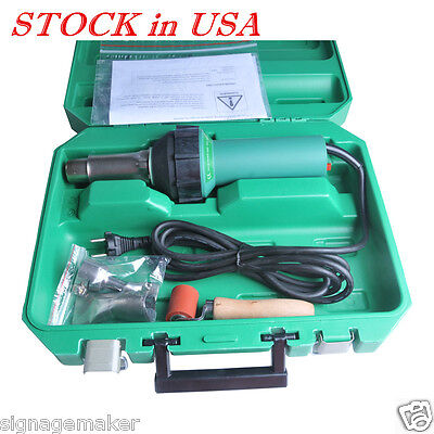 Us Stock - 1600w 110v Affordable Easy Grip Hand Held Plastic Hot Air Welding Gun