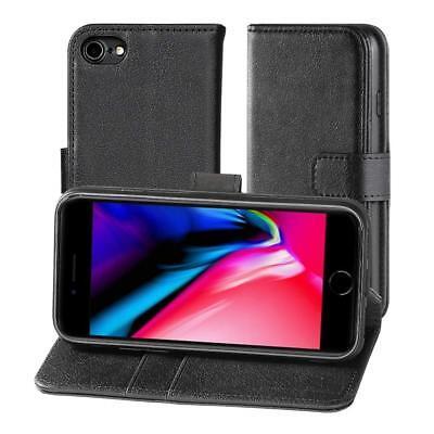 Für iPhone 8 iPhone 7 Leder Hülle Flip Case Schutz Cover Tasche Bumper Book Etui 7-leder Etui