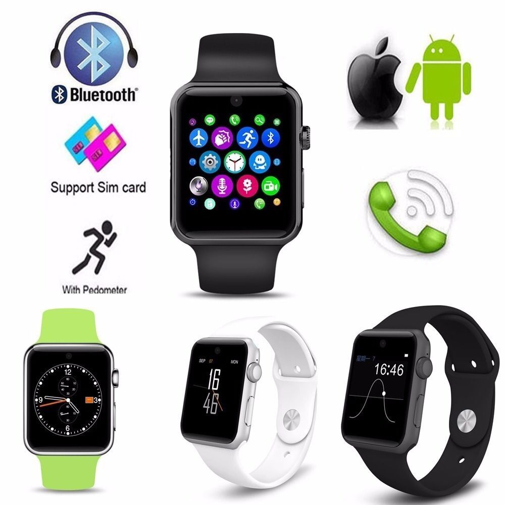 Dm09 bluetooth smart watch simcard HD screen iphone/android