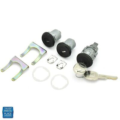 1986-1992 Camaro Door & Trunk Lock Kit Later Key 441