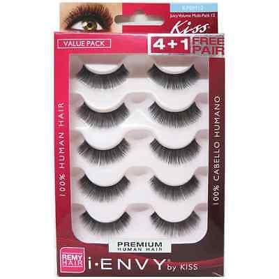 KISS i-Envy Juicy Volume Eye Lashes 5 ea