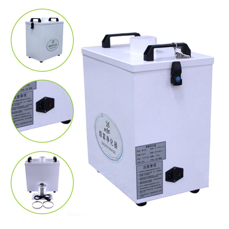 Air Purifier Smoke Air Fume Extractor For Engraving Film Cutting Machine 180m³/h