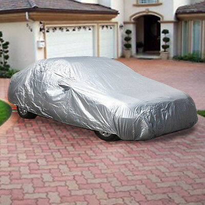 Large Full Size Car Cover Water Dust Uv Dirt Proof Pcs3s