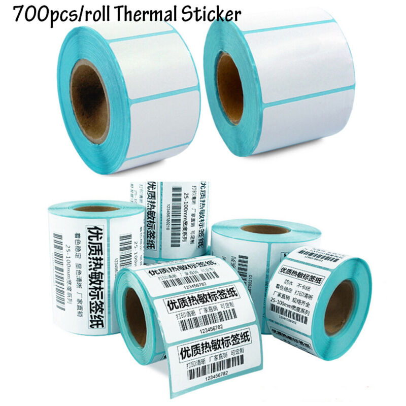 Price Cards Blank Tag Package Label Waterproof Thermal Stick