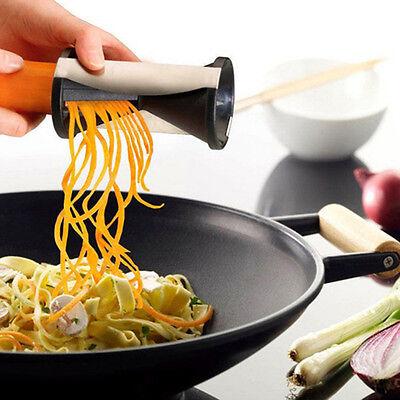 Slicer Twister Spiralschneider Gemüseschäler Cutter Schäler Küche Gemüsestreifen Slicer