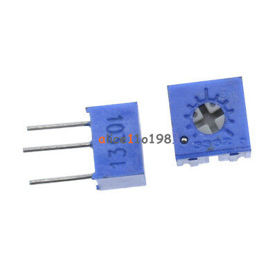 10pcs 3362 P 10k Ohm 3362p-103 High Precision Variable Resistor Potentiometer