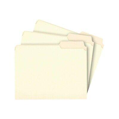 Staples File Folders 3-tab Right Position Letter Manila 100box 116822
