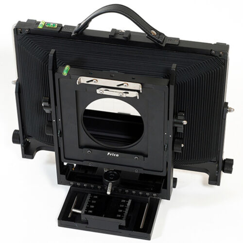 """Professional Frica 410L 4x10"""" Metal Camera Large Format with Lens Board Adapter"""