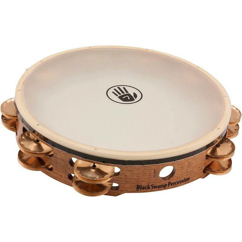 "Black Swamp Percussion SoundArt Double Row 10"" Tambourine Beryllium Copper"