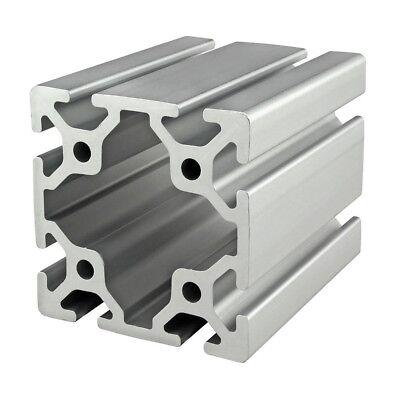 8020 Inc T Slot 80mm X 80mm Aluminum Extrusion 40 Series 40-8080 X 1525mm N